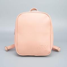 Рюкзак из искусственной кожи i am good girl 28х24х9 см Nazamok