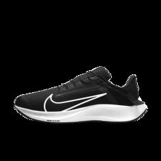 Мужские беговые кроссовки Nike Air Zoom Pegasus 38 FlyEase (на очень широкую ногу) - Черный