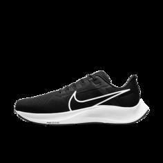 Мужские беговые кроссовки Nike Air Zoom Pegasus 38 (на очень широкую ногу) - Черный