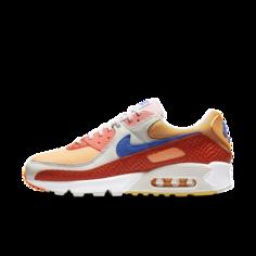 Женские кроссовки Nike Air Max 90 - Оранжевый