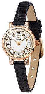 Золотые женские часы в коллекции Фиалка Женские часы Ника 0313.2.1.17 Nika