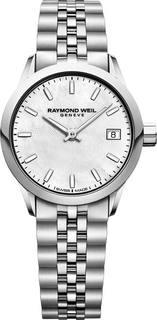 Швейцарские женские часы в коллекции Freelancer Женские часы Raymond Weil 5626-ST-97021