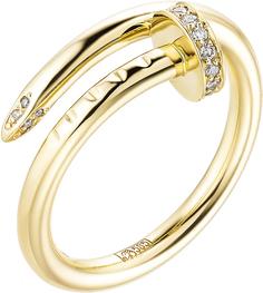 Золотые кольца Кольца Алькор 12998-300