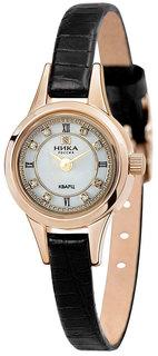 Золотые женские часы в коллекции Фиалка Женские часы Ника 0303.0.1.17 Nika