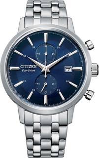 Японские мужские часы в коллекции Eco-Drive Мужские часы Citizen CA7060-88L