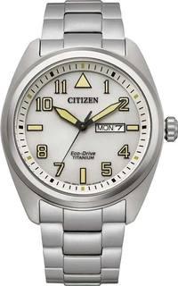 Японские мужские часы в коллекции Super Titanium Мужские часы Citizen BM8560-88X