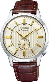Японские мужские часы в коллекции Automatic Мужские часы Citizen NK5000-12P
