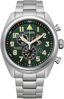 Японские мужские часы в коллекции Eco-Drive Мужские часы Citizen AT2480-81X