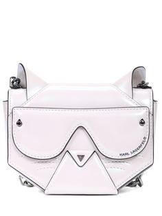Сумка из искусственной кожи Cyber Choupette Karl Lagerfeld