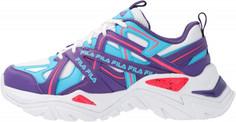 Кроссовки для девочек FILA Electrove, размер 34.5