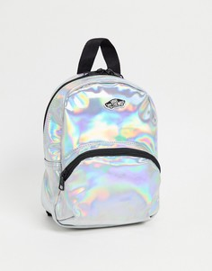 Перламутровый мини-рюкзак с радужным отливом Vans Gettin It-Розовый цвет