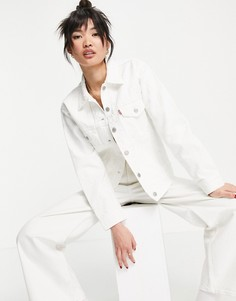 Белая куртка в утилитарном стиле Levis-Белый