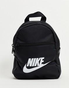 Маленький рюкзак черного цвета Nike Futura-Черный