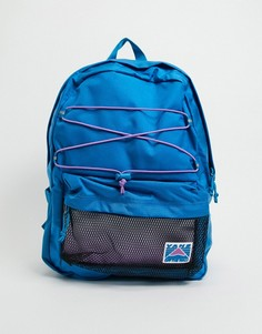 Синий рюкзак Vans-Белый