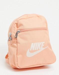 Маленький рюкзак оранжевого цвета Nike Futura-Оранжевый цвет