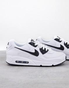 Черно-белые кроссовки Nike Air Max 90-Черный цвет