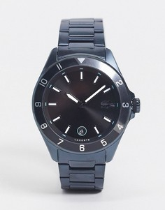 Темно-синие мужские часы-браслет Lacoste-Голубой