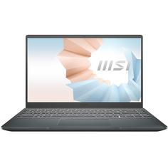 Ноутбук MSI Modern B11MO-062RU серый (9S7-14D314-062)