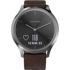 Смарт-часы Garmin Vivomove HR Premium серебряные (010-01850-24)