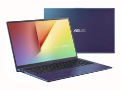 Ноутбук ASUS VivoBook X512JA-BQ1021 90NB0QU6-M14630 (Intel Core i3-1005G1 1.2GHz/4096Mb/256Gb SSD/Intel UHD Graphics/Wi-Fi/Bluetooth/Cam/15.6/1920x1080/no OS)