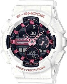 Японские наручные мужские часы Casio GMA-S140M-7AER. Коллекция G-Shock