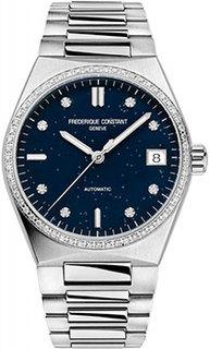 Швейцарские наручные женские часы Frederique Constant FC-303NSD2NHD6B. Коллекция Highlife Automatic