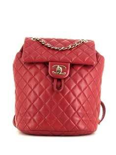 Chanel Pre-Owned стеганый рюкзак Timeless