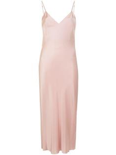Gilda & Pearl платье-комбинация Sophia длины миди