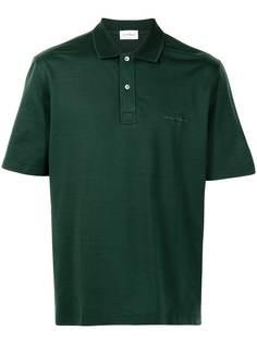 Salvatore Ferragamo рубашка поло с вышитым логотипом