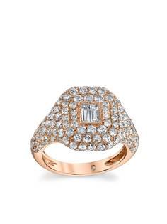 SHAY кольцо Essential из розового золота с бриллиантами