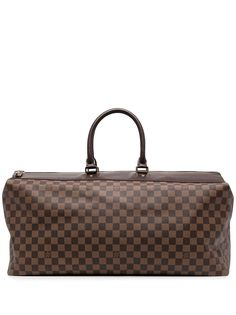 Louis Vuitton дорожная сумка Damier Ebene Greenwich GM 2004-го года