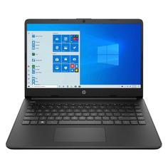 "Ноутбук HP 14s-fq0097ur, 14"", IPS, AMD Athlon Silver 3050U 2.3ГГц, 4ГБ, 128ГБ SSD, AMD Radeon , Windows 10, 3C8M7EA, черный"