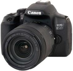 Зеркальный фотоаппарат Canon EOS 850D 18-135 (черный)