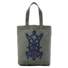 Текстильная сумка-шопер 5 Moncler Craig Green Moncler Genius