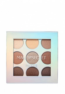 Палетка для глаз Make-Up Secret NUDE