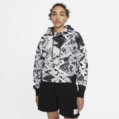 Женская худи Jordan Heatwave - Серый Nike