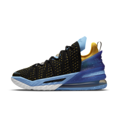 """Баскетбольные кроссовки LeBron 18 """"Dynasty"""" - Черный Nike"""