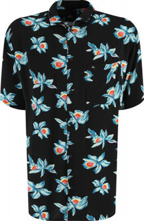 Рубашка с коротким рукавом мужская Quiksilver, размер 50-52
