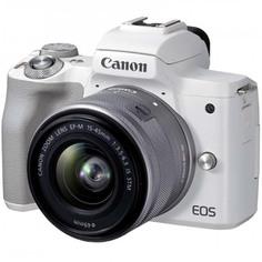 Фотоаппарат системный Canon EOS M50 Mark II 15-45mm + 55-200mm IS STM, Black