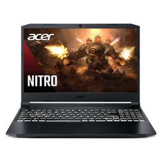 "Ноутбук ACER Nitro 5 AN515-45-R9UX, 15.6"", IPS, AMD Ryzen 7 5800H 3.2ГГц, 8ГБ, 512ГБ SSD, NVIDIA GeForce RTX 3060 для ноутбуков - 6144 Мб, Eshell, NH.QBCER.002, черный"