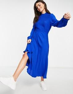 Синее платье Ghost Una-Голубой