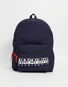 Темно-синий рюкзак Napapijri Hatch-Черный