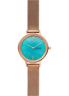 Швейцарские наручные женские часы Skagen SKW2977. Коллекция Mesh