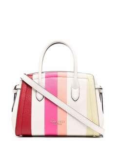 Kate Spade полосатая сумка-тоут с логотипом
