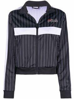 Fila спортивная куртка в полоску