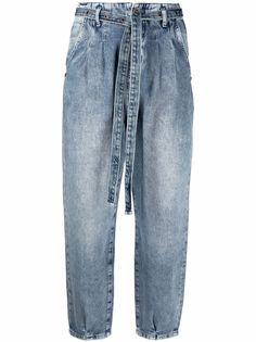 Patrizia Pepe широкие джинсы с завышенной талией