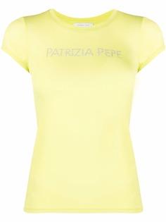 Patrizia Pepe футболка с логотипом