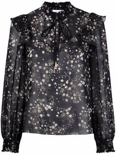 Patrizia Pepe блузка с цветочным принтом