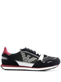 Emporio Armani кроссовки с логотипом