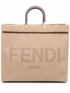 Fendi сумка-тоут Fendi Sunshine среднего размера